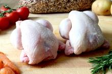 Мясо цыплят домашних бройлер 350-650 гр