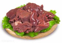 Субпродукты индейки фермерской (печень)