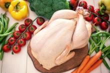 Мясо курицы домашней  (Кучинской) молодняк